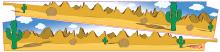 Pingraffix Rocky Rocky and Bullwinkle Pinball Inner Art PinBlades