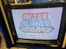 SEGA AFTER BURNER CLIMAX Arcade Game I/O Board with Harness #5251 for sale