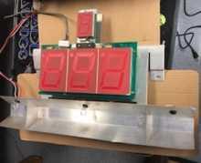 SKEE-BALL Arcade Machine Game PCB Printed Circuit SBD4 MODEL S DISPLAY Board for sale