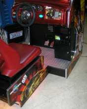 RAW THRILLS THE FAST and THE FURIOUS:TOKYO DRIFT Arcade Machine Game for sale