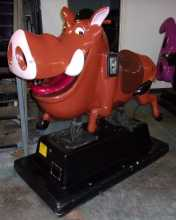 THE LION KING PUMBAA KIDDIE RIDE for sale