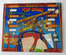 WILLIAMS TOP DAWG Arcade Machine Game GLASS Marquee Bezel Artwork Graphic #5511 for sale