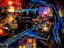 Bally TWILIGHT ZONE Pinball Machine Game TZ BLUE WIRE LIGHT MOD