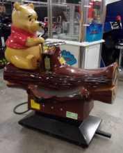 WINNIE THE POOH KIDDIE RIDE for sale