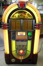 WURLITZER PLAY IT AGAIN Replica CD Compact Disc Jukebox for sale